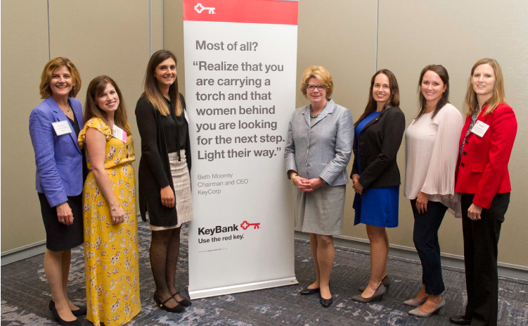CREW Network and KeyBank Reception with CEO Beth Mooney