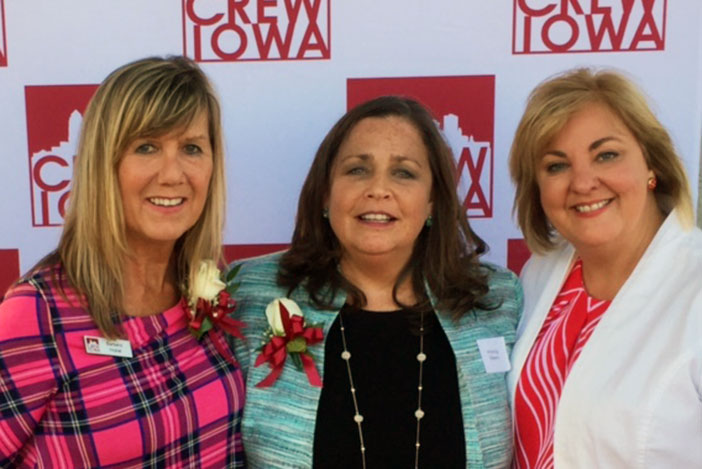 Barbara Hokel, Wendy Mann and Tina Mowrey