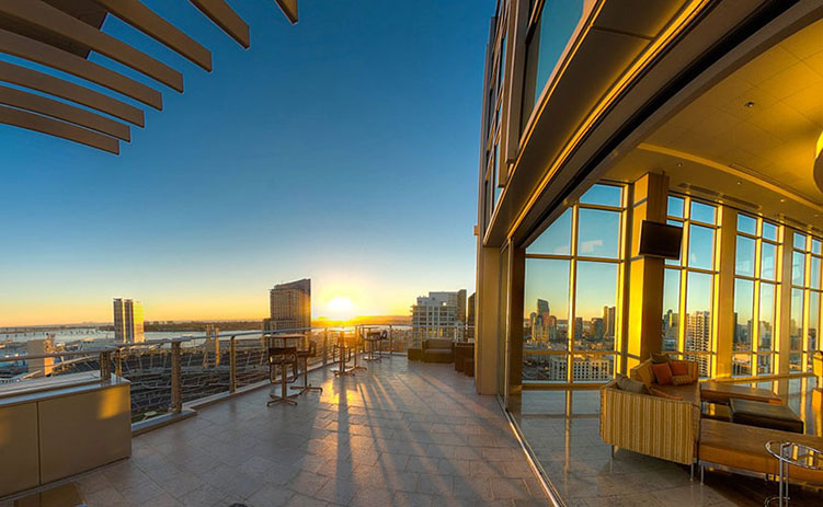 Ultimate Skybox at DiamonView Tower - Cisterra Development