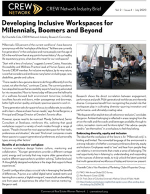 Developing Inclusive Workspaces for Millennials, Boomers and Beyond